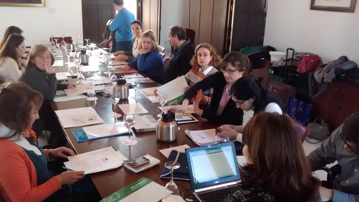 39 reunión del Consejo de Dirección de la Red de Información Europea de Andalucia (18 febrero 2015)