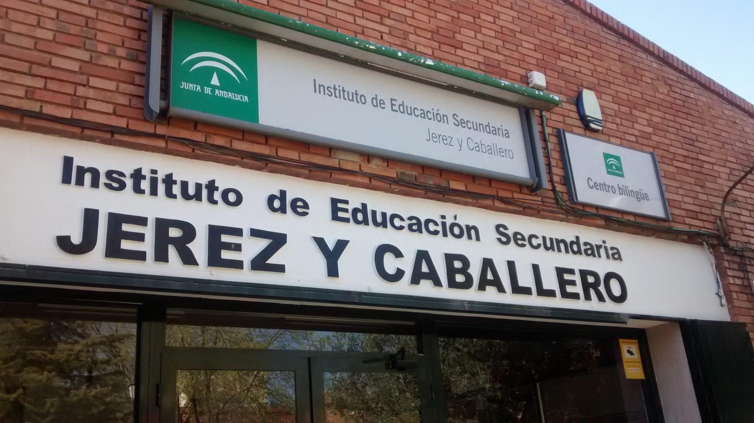 Reunión con los alumnos IES Jerez y Caballero. Hinojosa del Duque. 11 de marzo de 2015