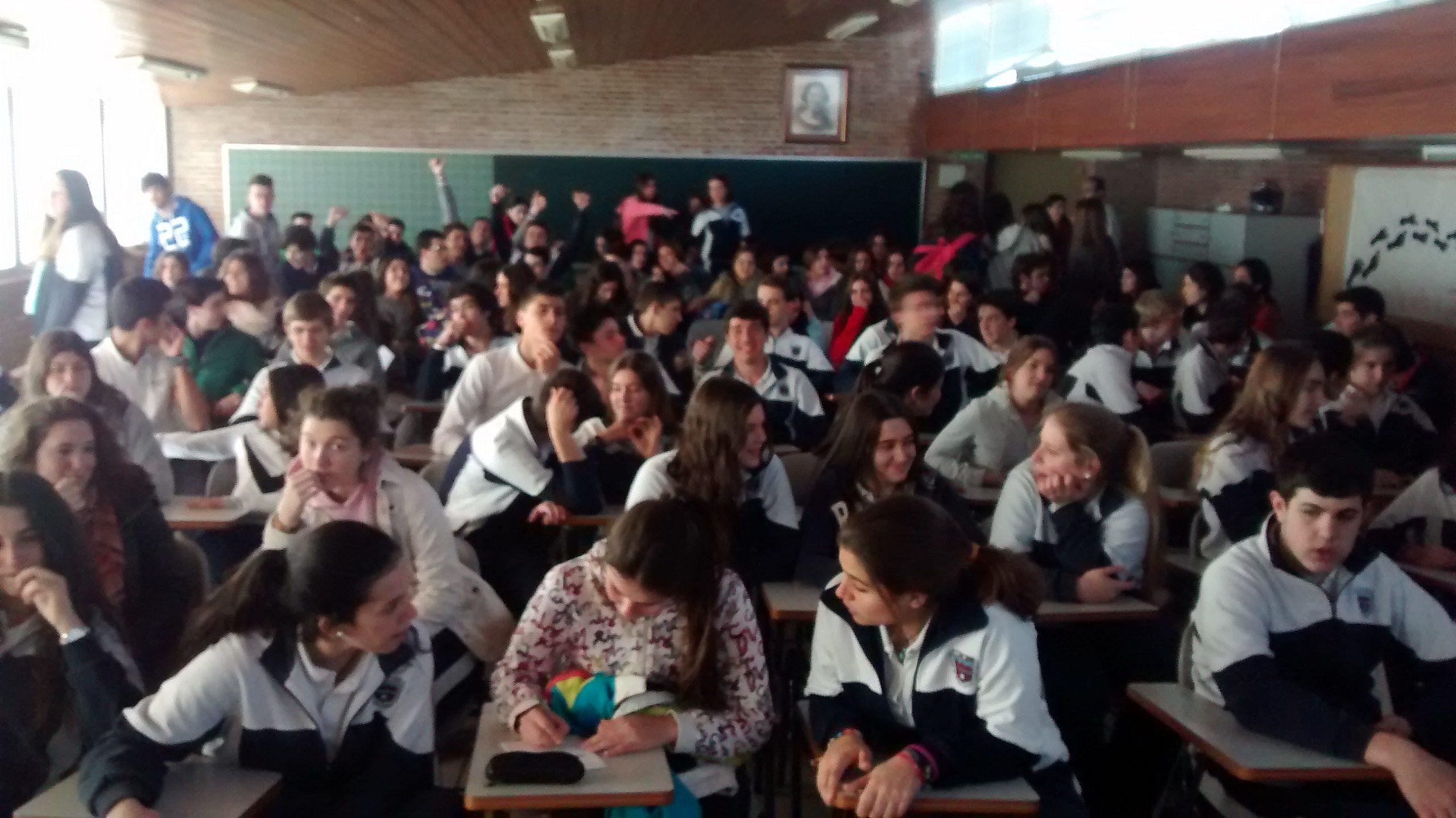 Jornada de Orientación en el colegio Bética Mudarra, 5 marzo 2015.