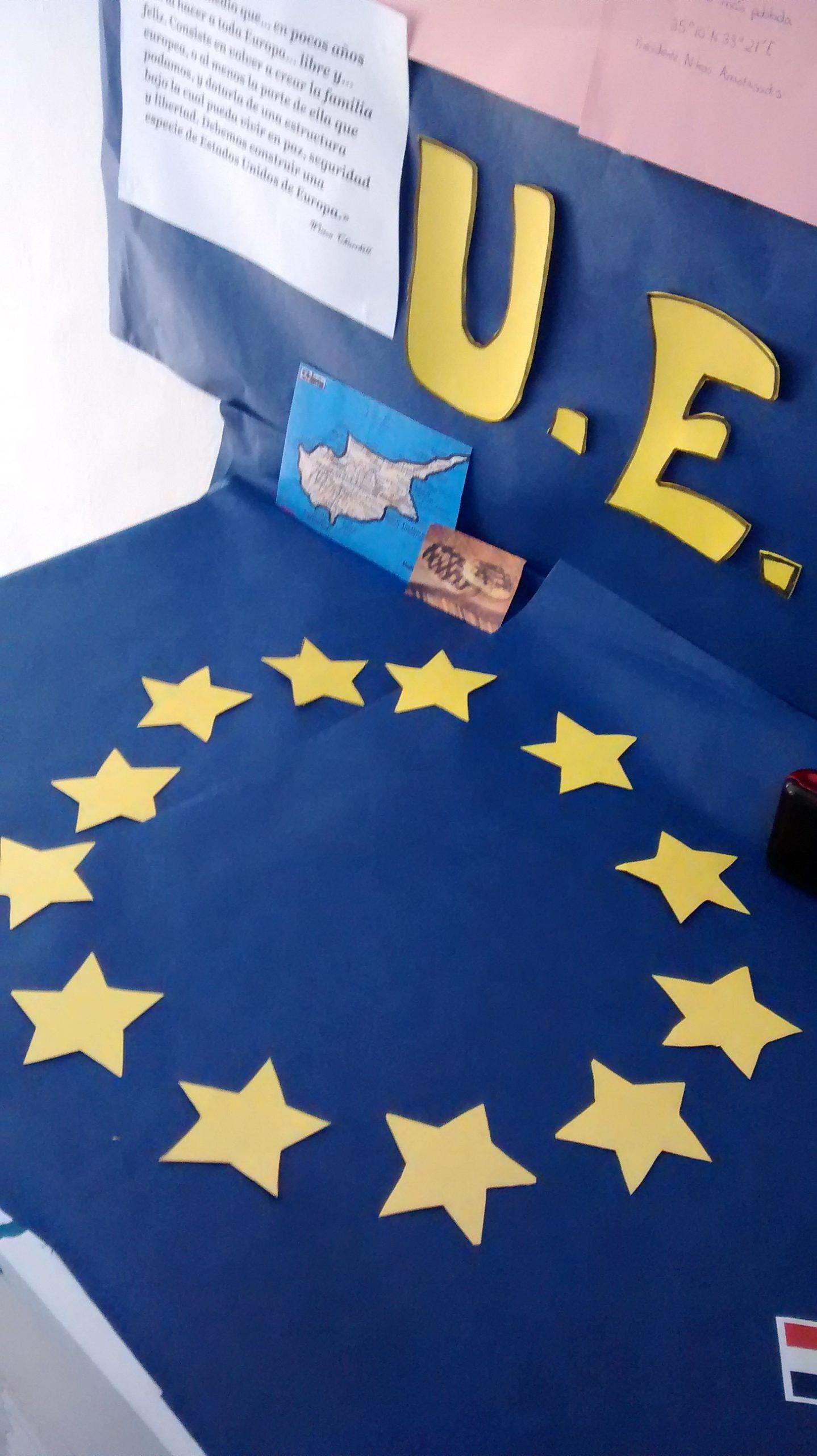 Día De Europa 2015, Colegio Santa Victoria, 12 de mayo.