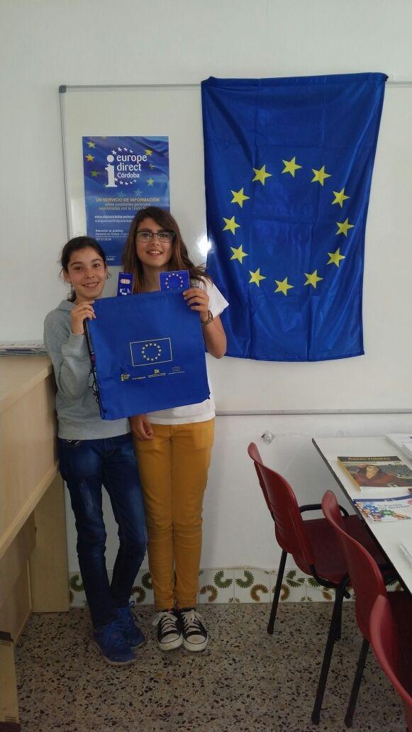 Día de Europa 2015 en Dos Torres, 30 de abril, taller de Cuenta Cuentos.