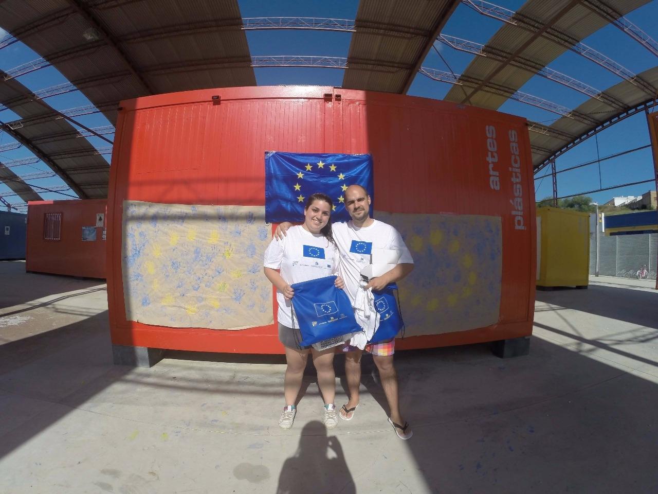 Día de Europa 2015, Puente Genil, Gymkana  6 de mayo.