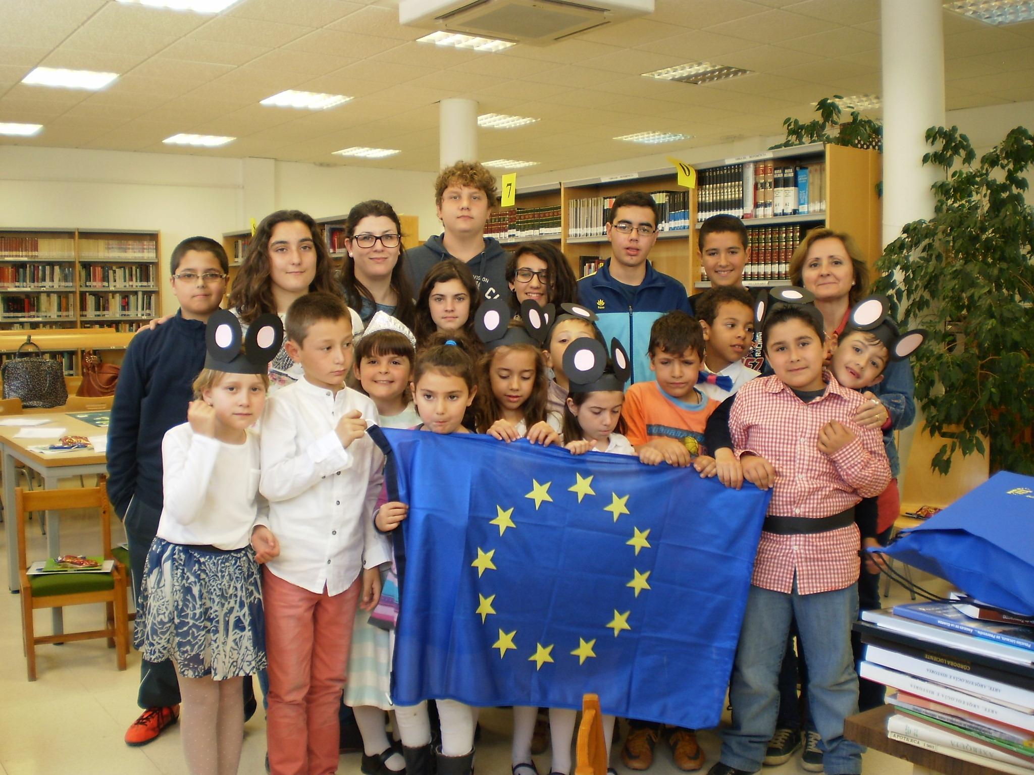 Día de Europa 2015 en Alcaracejos, Cuenta cuentos, 30 de abril.
