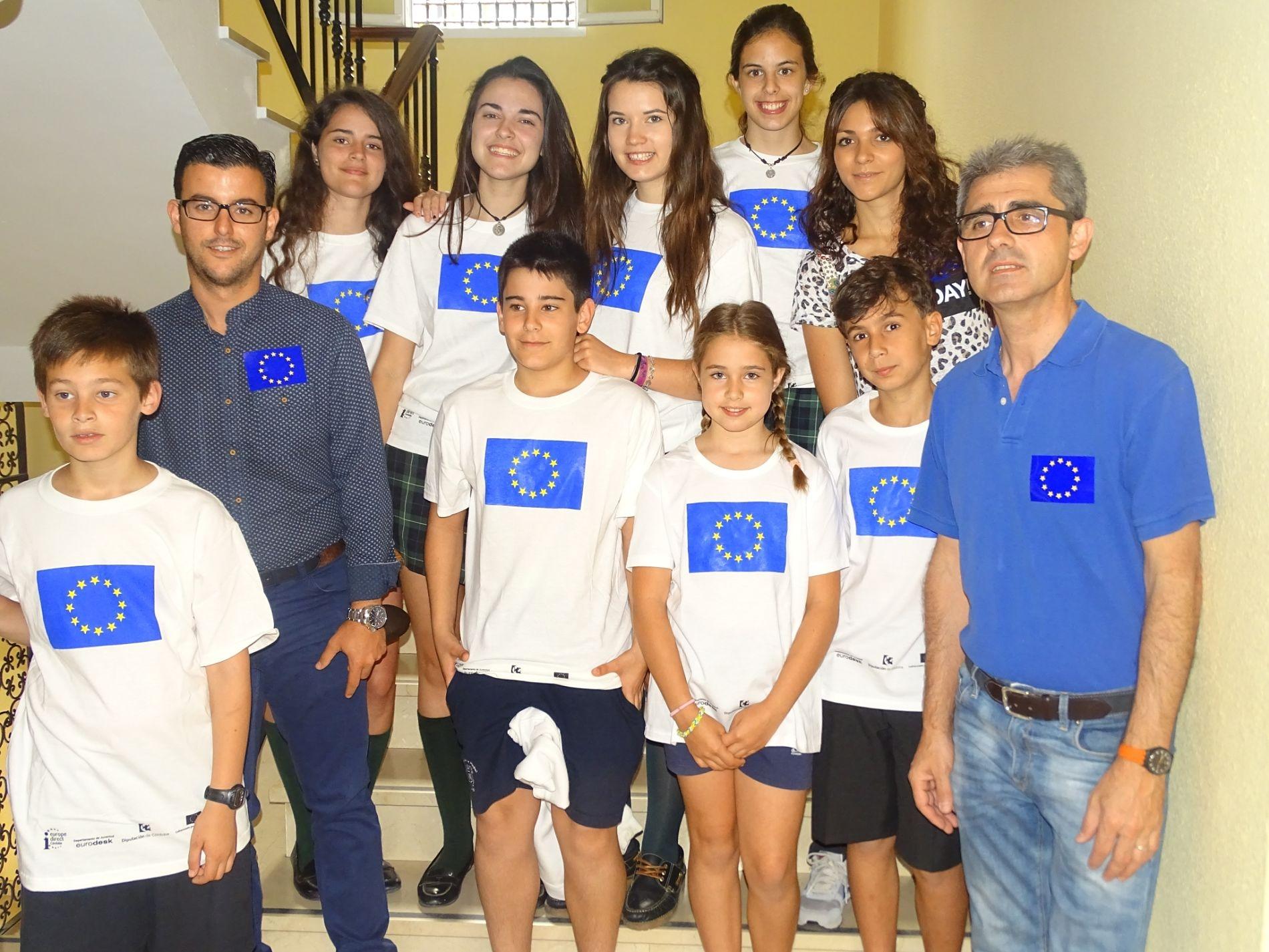 Día de Europa 2015, Colegio Nuestra Señora de la Piedad, 8 de mayo.