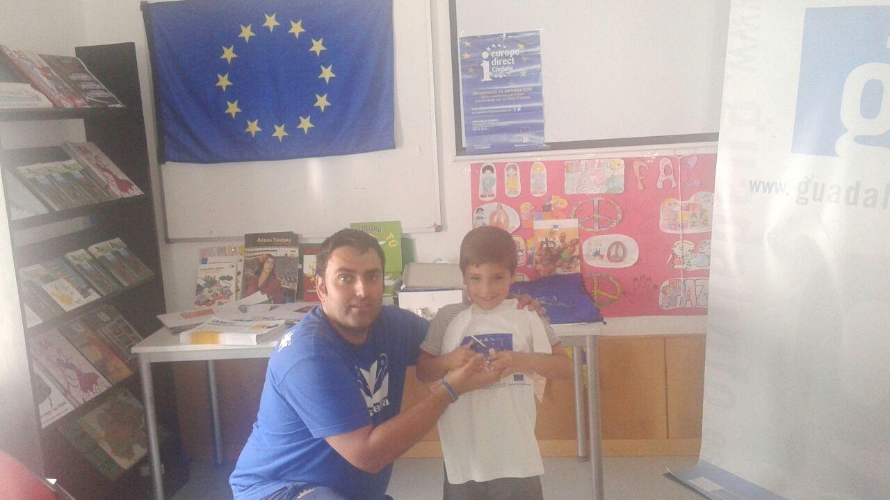 Día de Europa 2015 en Zuheros, Taller de manualidades, Del 4 al 8  de mayo.