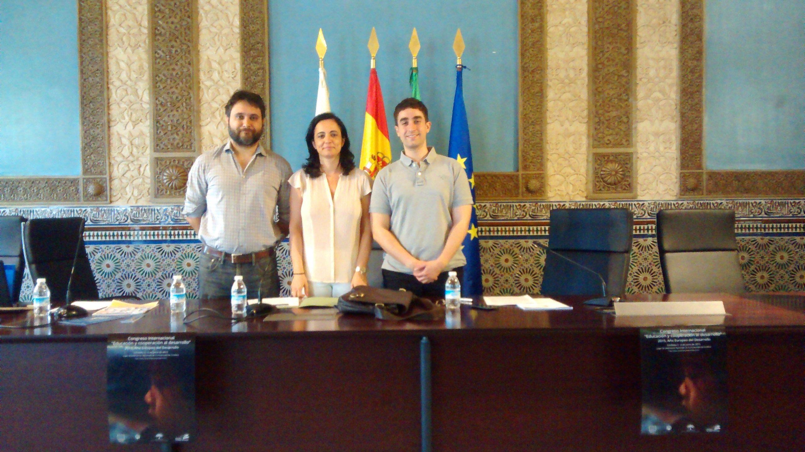 """Congreso Internacional """"Educación y cooperación al desarrollo"""".Universidad de Córdoba.Junio 2015"""