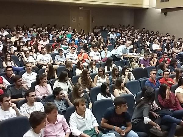 XV Jornada Informativa para Estudiantes de nuevo ingreso en la Faculdad de Derecho y ADE, Universidad de Córdoba. (9 de septiembre 205)
