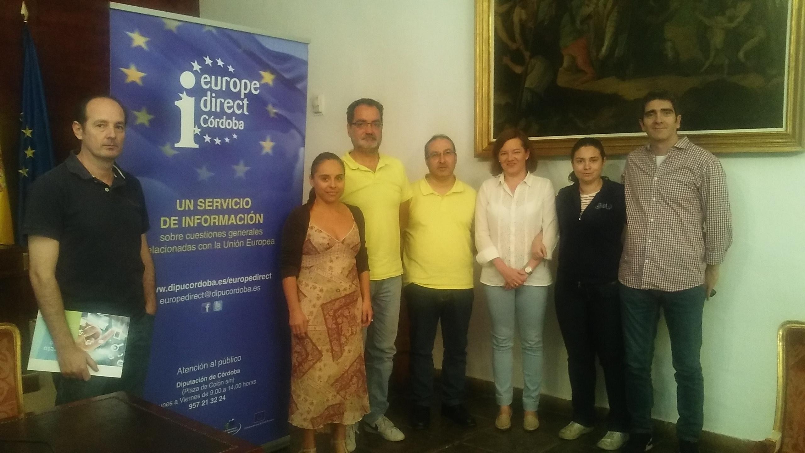 Visita II Lanzadera de Empleo, Córdoba, 9 de octubre de 2015.