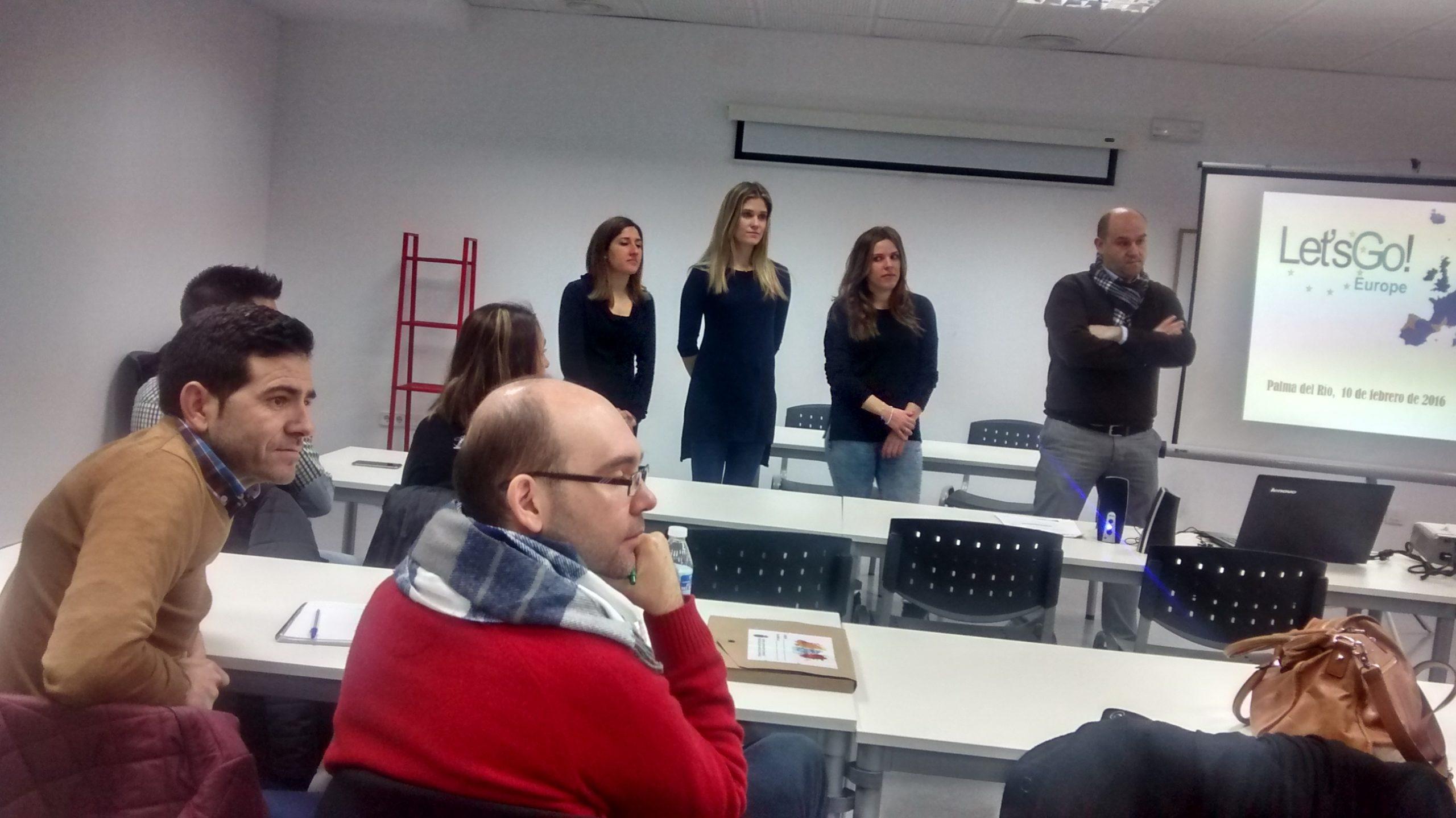 Erasmus Plus, Palma del Río, 10 de febrero 2016.