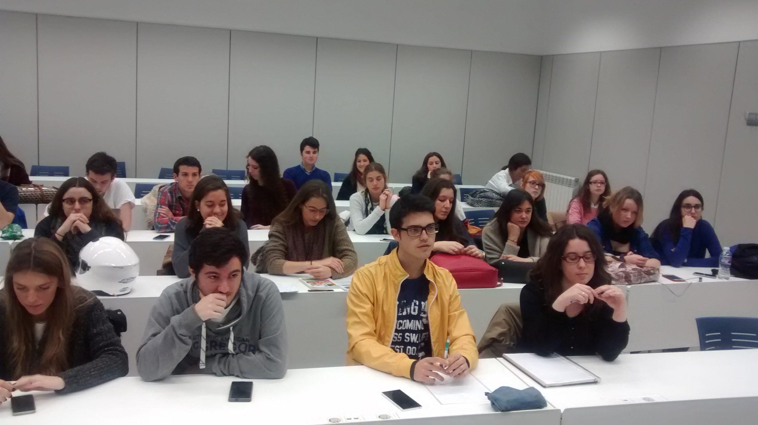 Sesión informativa, Universidad Loyola Andalucía.16 de marzo de 2016.