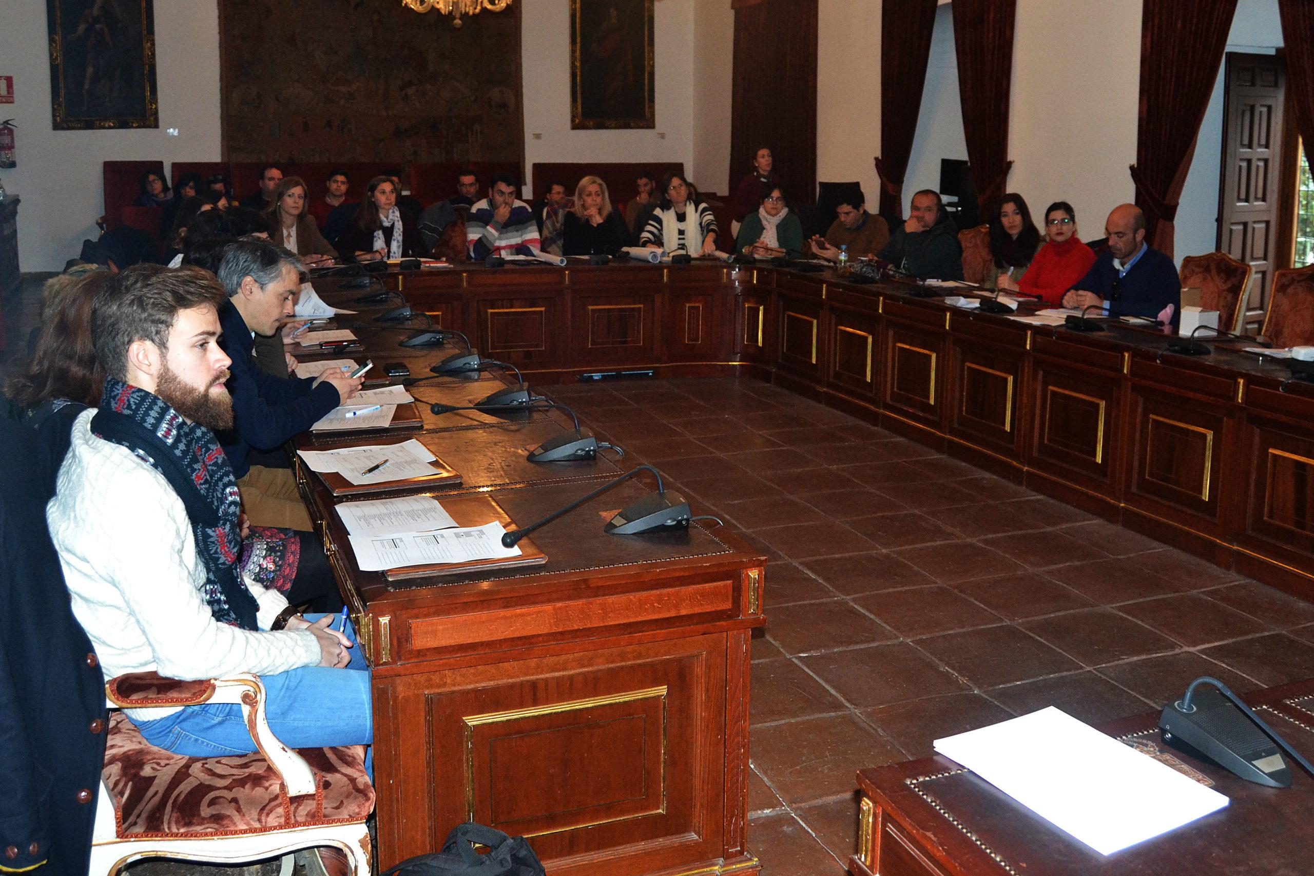 Reunión Concejales y técnicos de juventud, 31 de enero de 2017.
