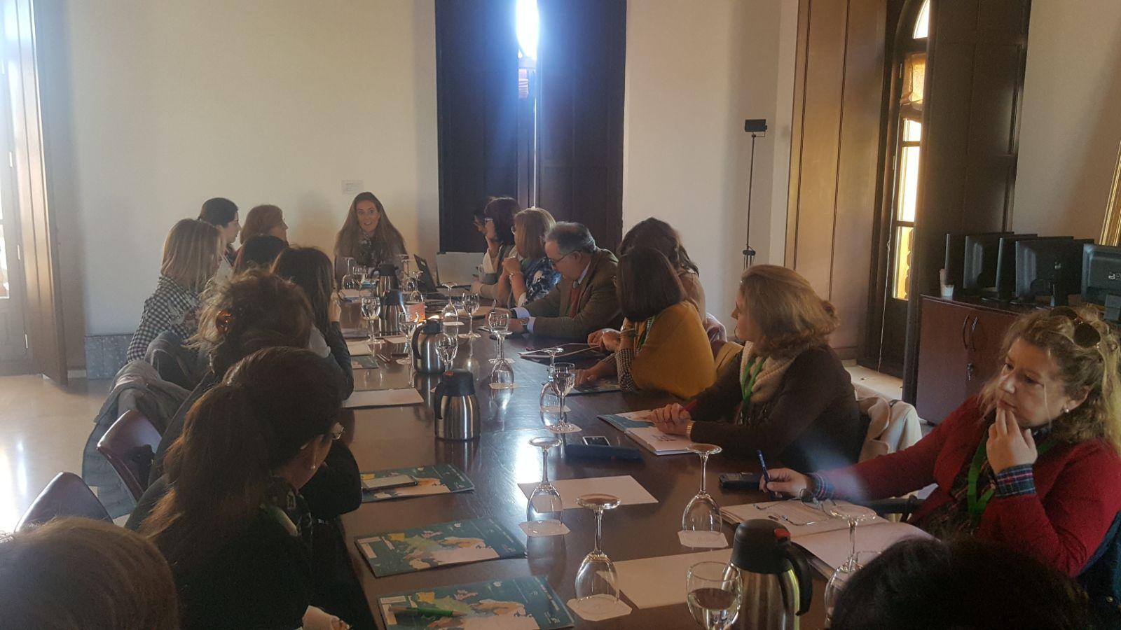 49ª Reunión del Consejo de Dirección de la Red de información europea de Andalucía.20 febrero 2018.