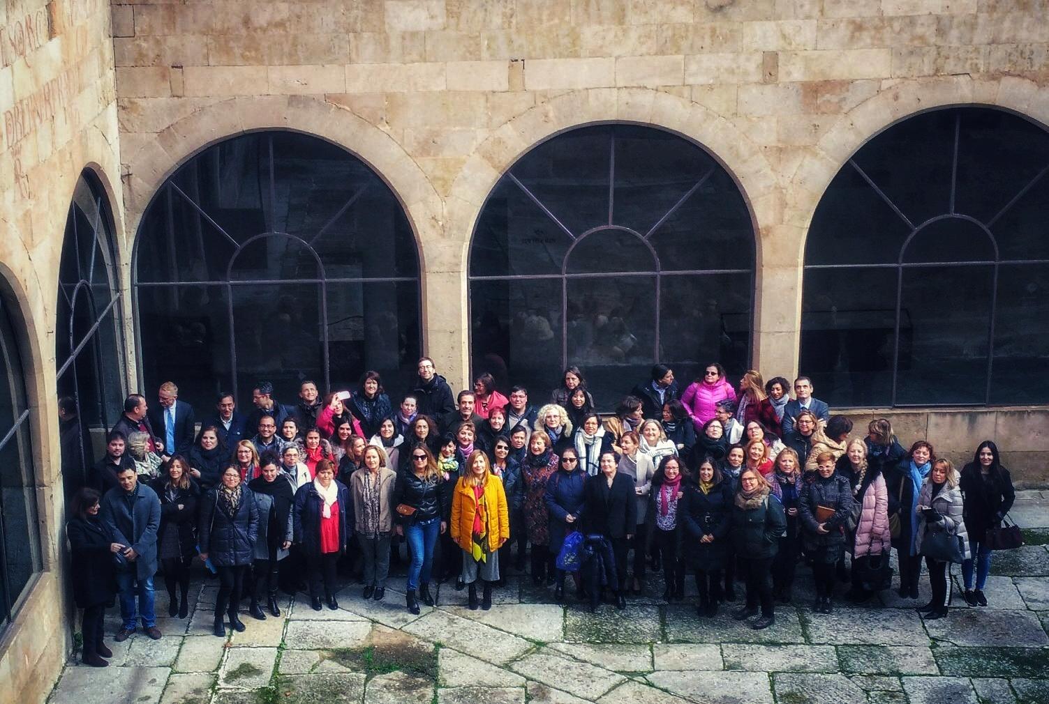 Reunión anual de redes de información europea. Salamanca, 14-16 de marzo 2018.