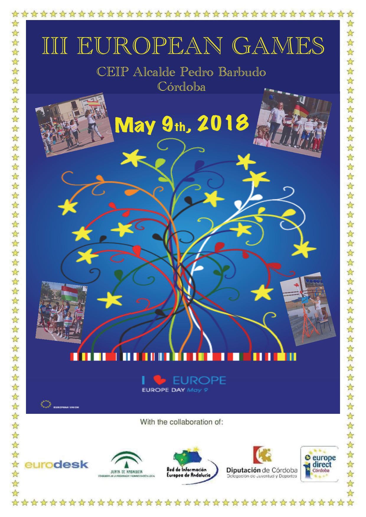 Día Europa 2018 en Córdoba (CEIP Pedro Barbudo)
