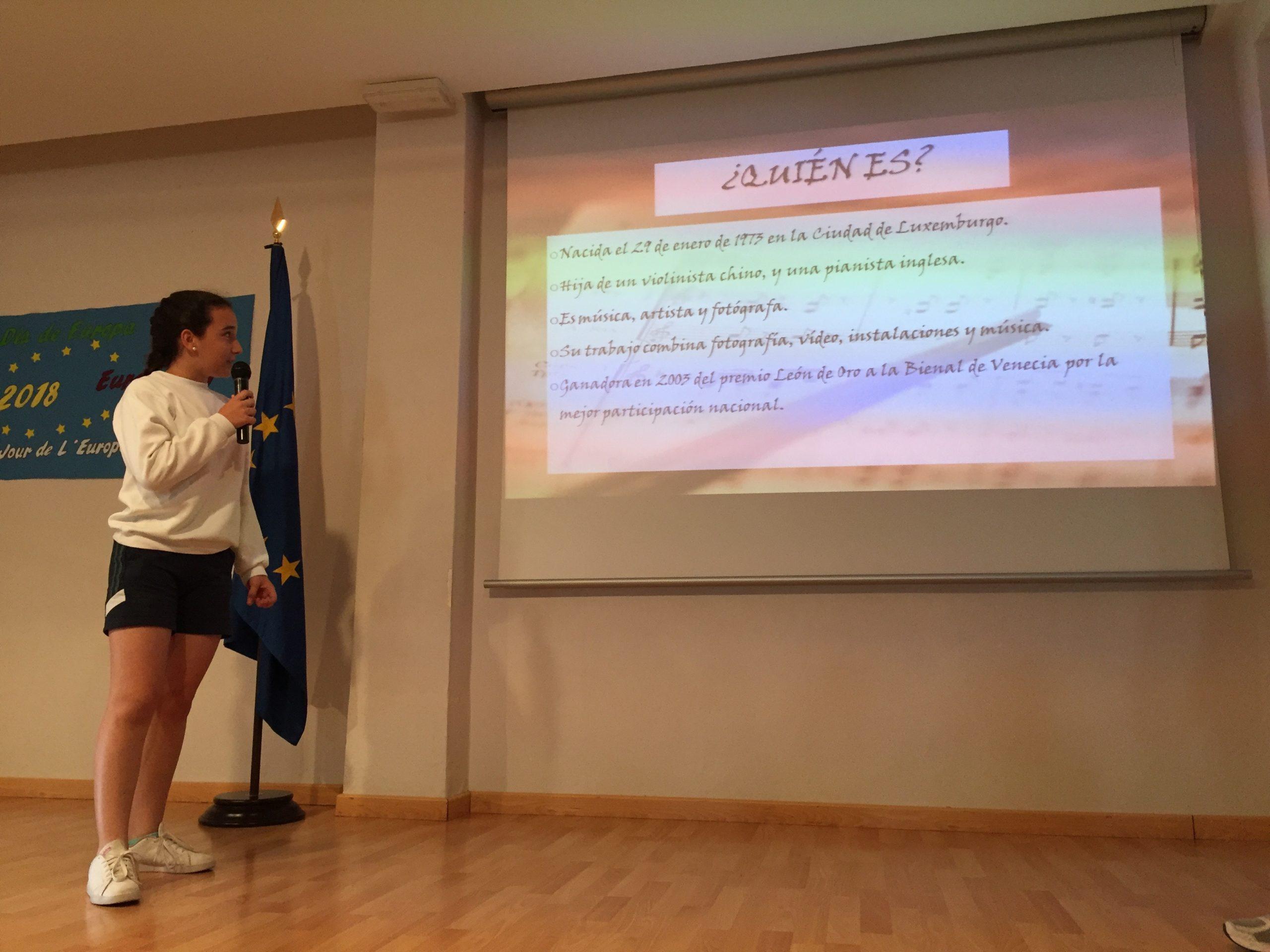 Córdoba. Colegio Nuestra Sra. de la Piedad. Día Europa 2018