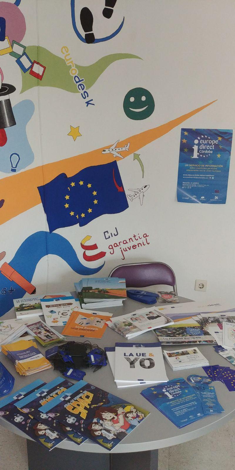 Día Europa 2018 en Puente Genil. Ayuntamiento (Juventud)