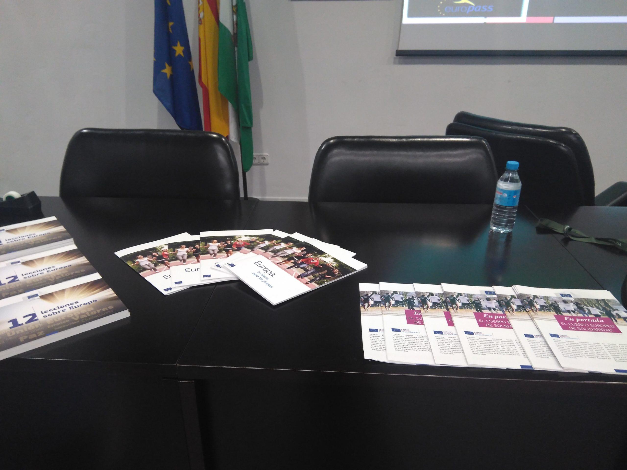 Sesión Informativa Facultad CC Trabajo. Córdoba