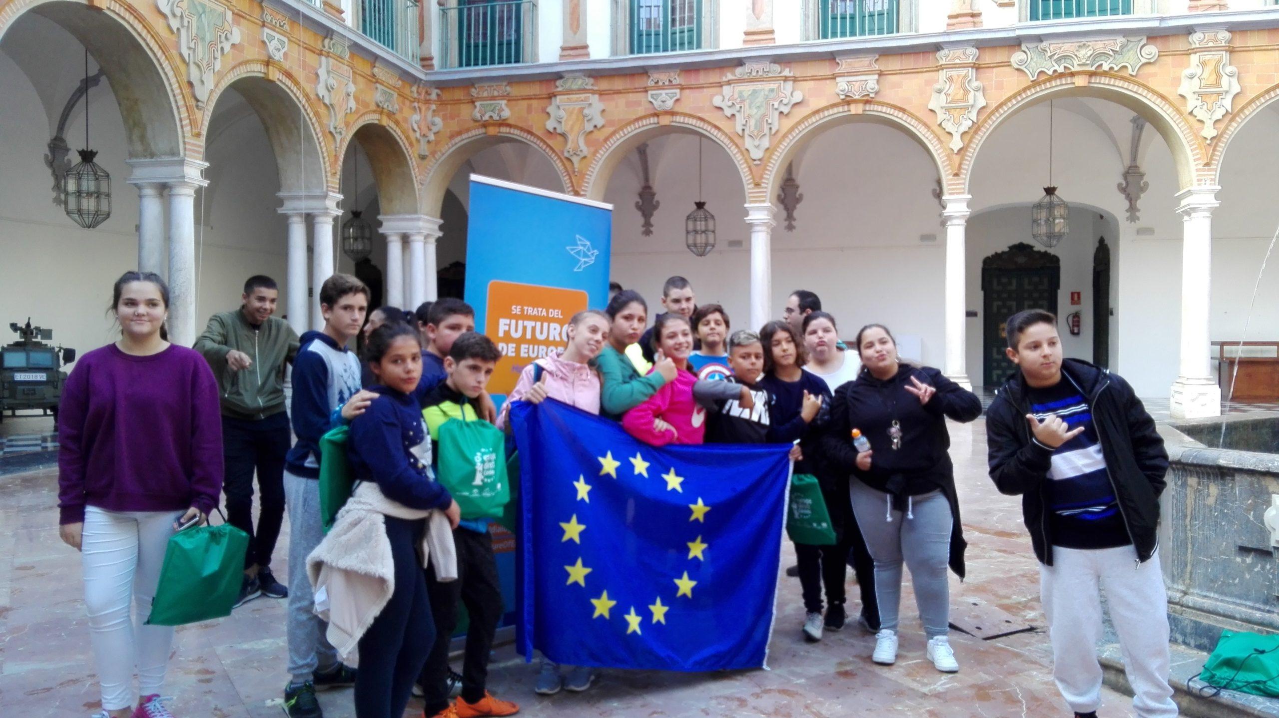 Visita alumnos IES Guadalquivir, 19 de octubre de 2018