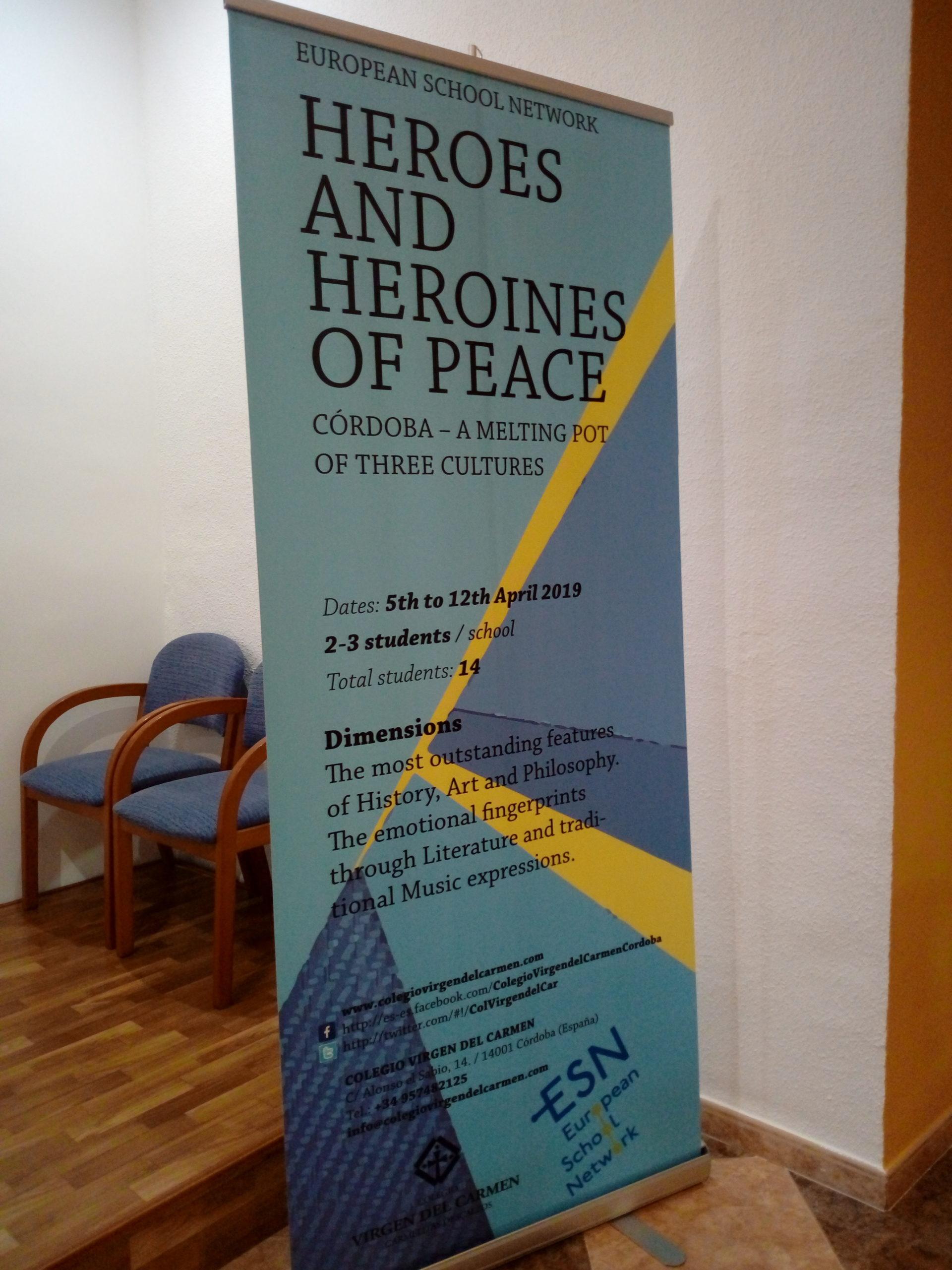 Mesa redonda. Colegio El Carmen 08 abril 19