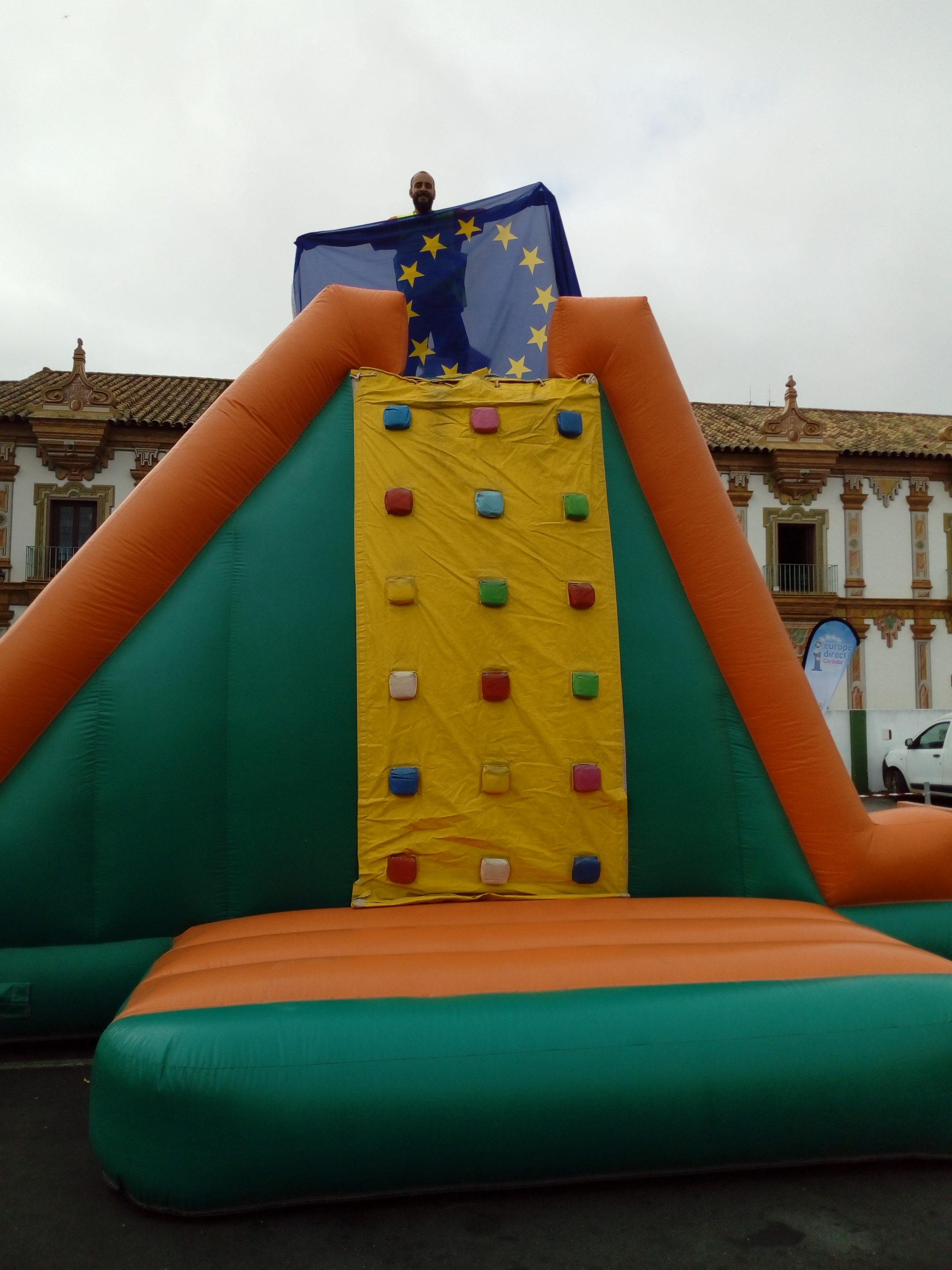 Día Europa. Diputación Córdoba. Gymkhana 9 mayo 19