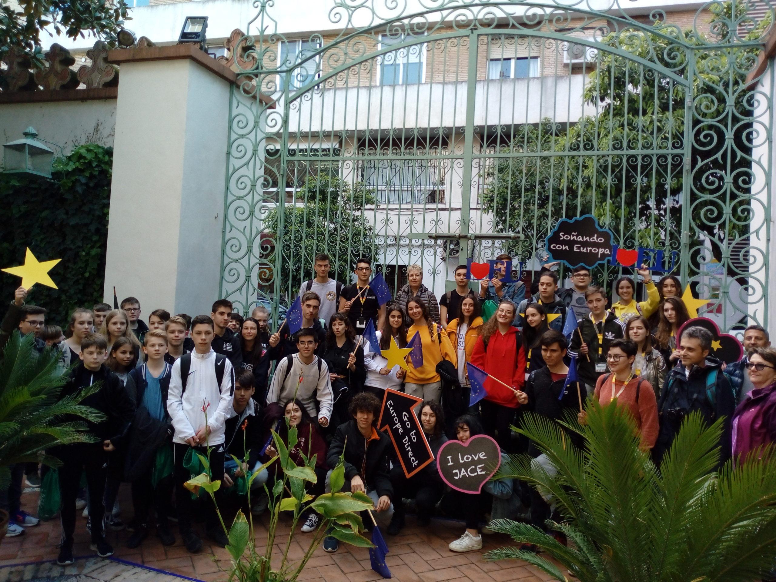 Visita a nuestro Centro. Colegio El Carmen. Abril 19