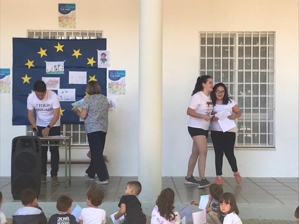 Colegio Miralbaida. Córdoba. Día Europa 2019