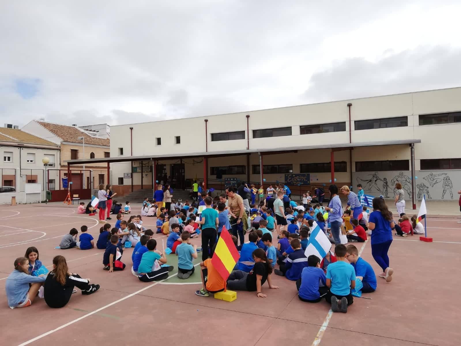 Colegio Pedro Barbudo. Córdoba. Día Europa 2019