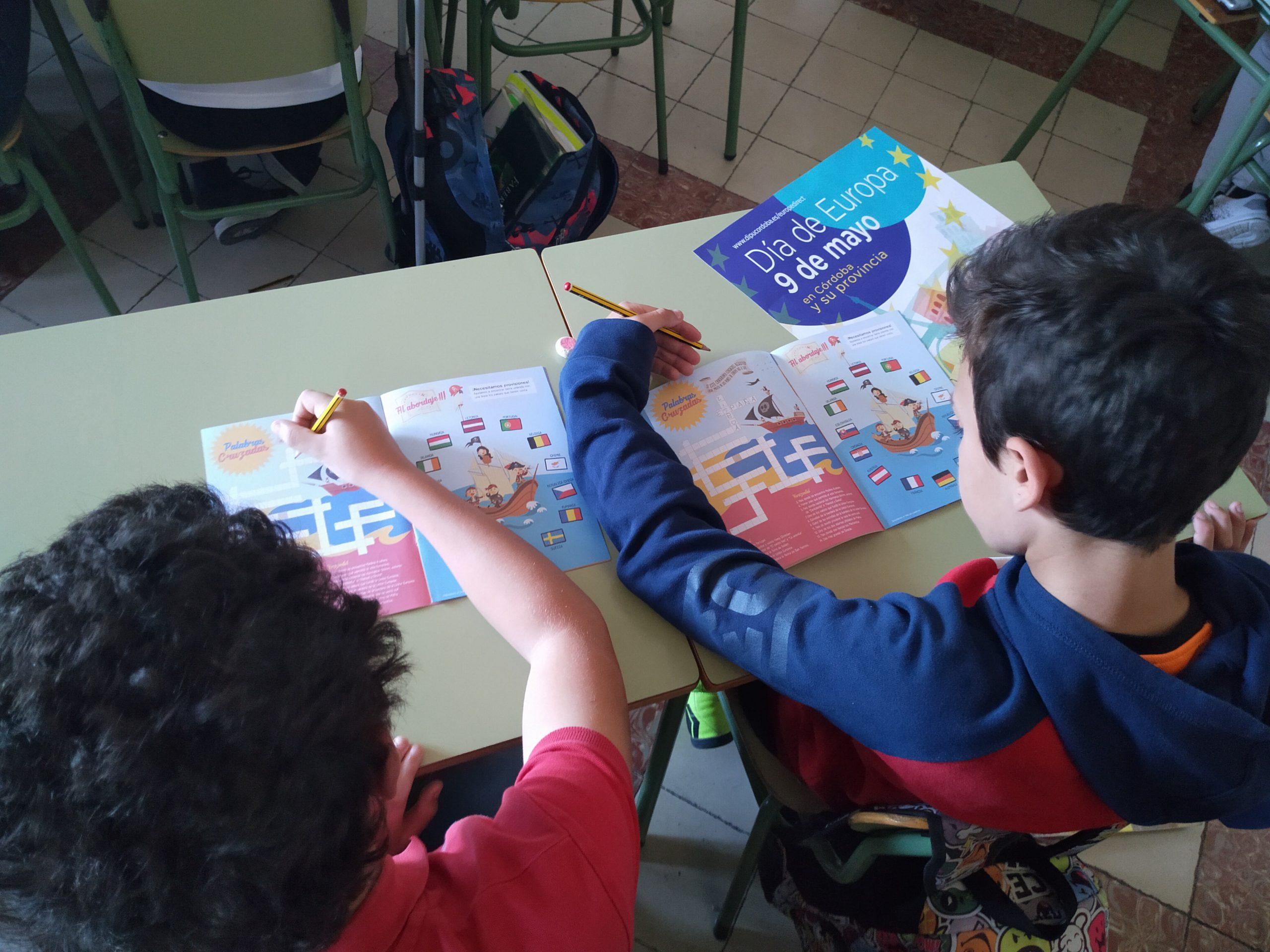 Colegio San José. Cabra. Día Europa 2019