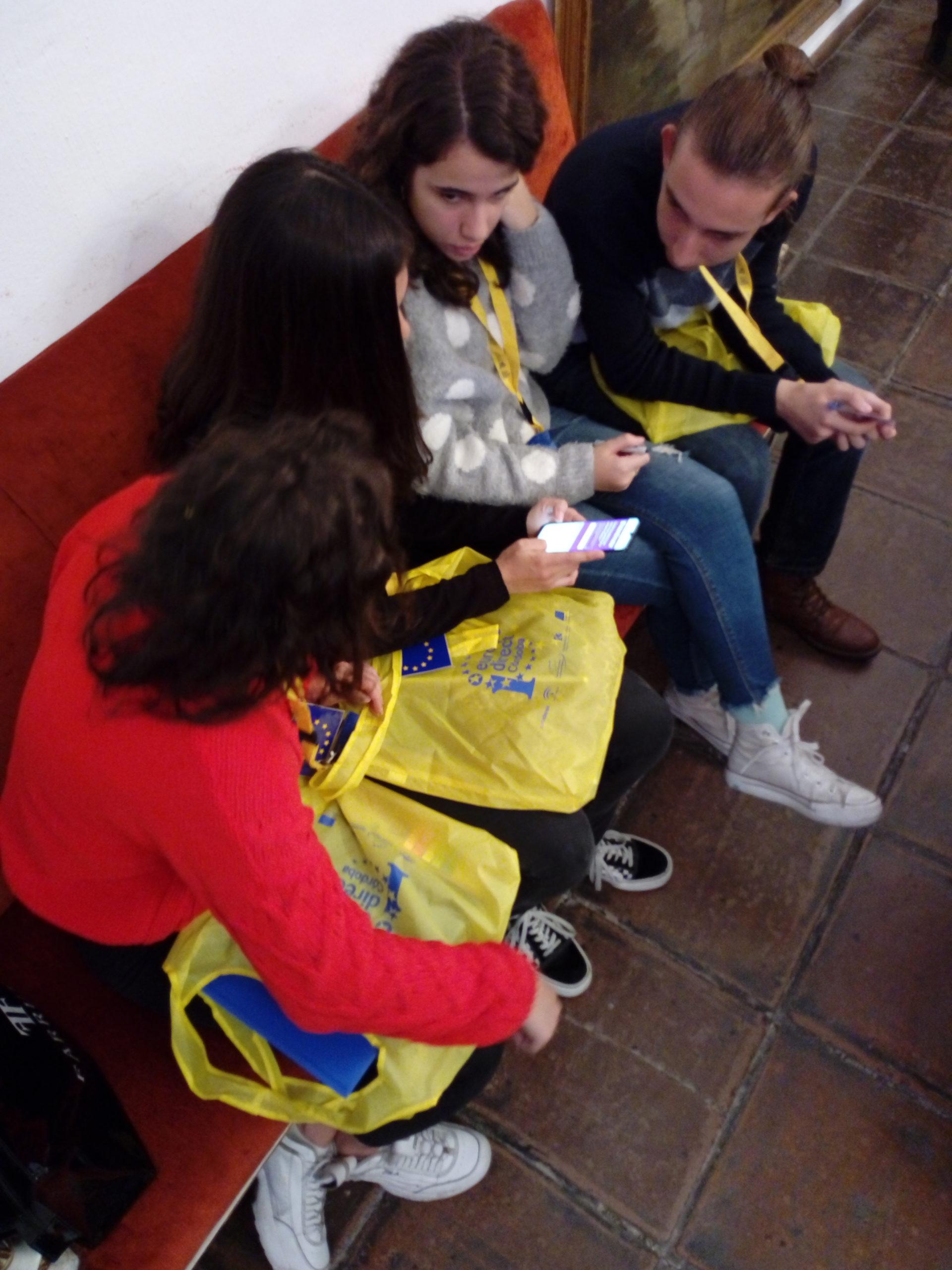22 noviembre 2019. Encuentro ERASMUS +. Diputación Córdoba