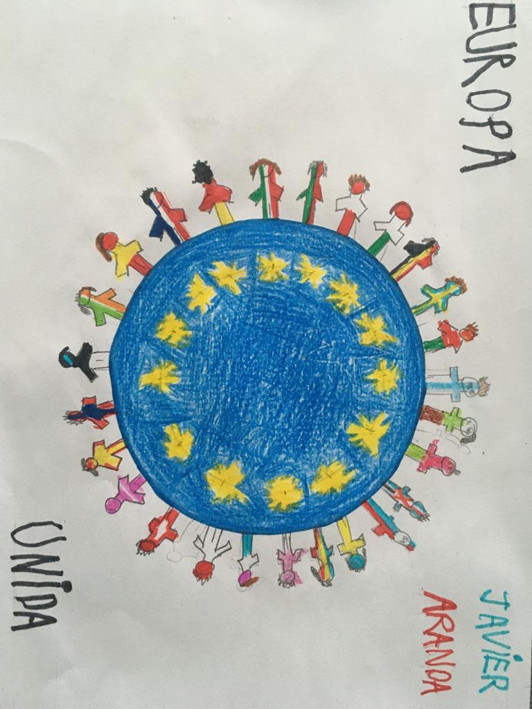 Concurso Día Europa: Dibujo Europa desde casa (2ª parte)