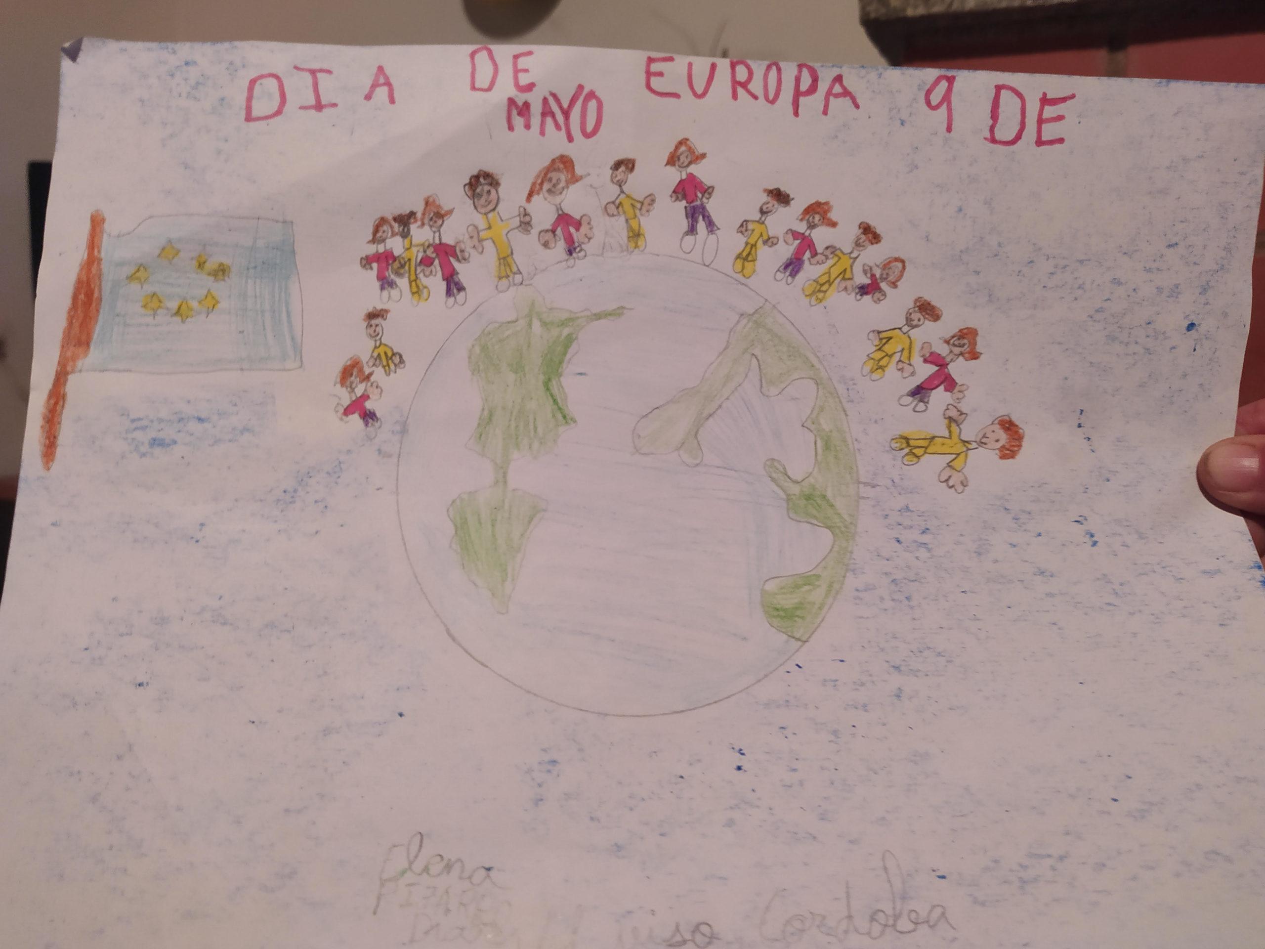 Concurso Día Europa: Dibujo Europa desde casa (1ª parte)