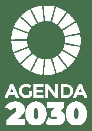 Logotipo Agenda 2030 monocromo