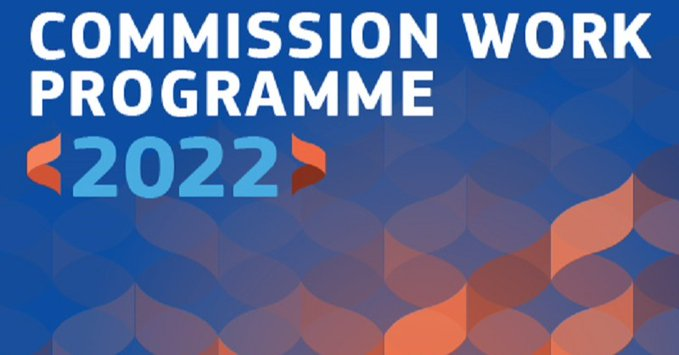 Programa de Trabajo de la Comisión para 2022: Hagamos juntos una Europa más fuerte