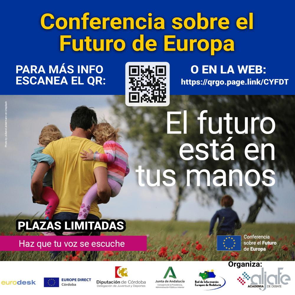 Actividades  en la provincia de Córdoba sobre Conferencia sobre el Futuro de Europa.
